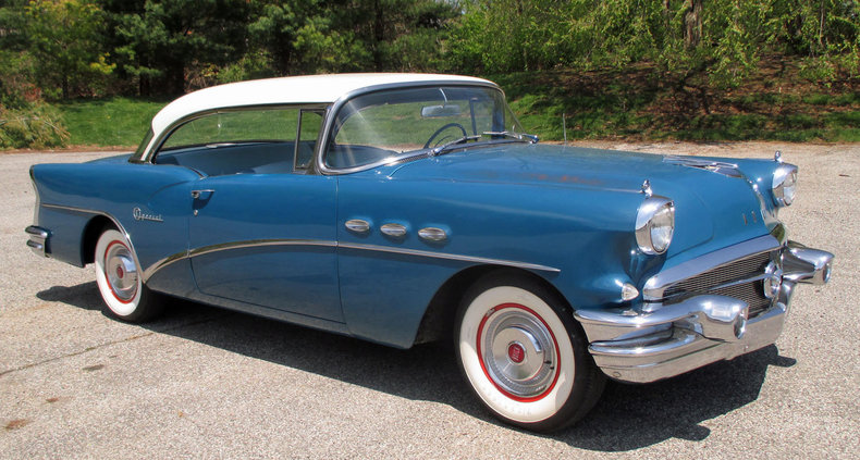 blue metallic 1956 buick special riviera for sale mcg. Black Bedroom Furniture Sets. Home Design Ideas
